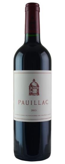2013 Pauillac de Chateau Latour Bordeaux Blend