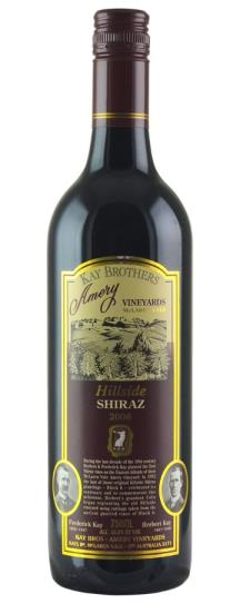 2006 Kay Brothers Hillside Shiraz