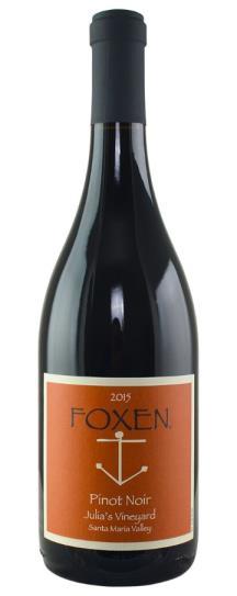 2015 Foxen Vineyard Pinot Noir Julia's Vineyard