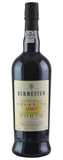 1987 J W Burmester Colheita Port