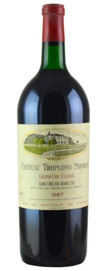 1987 Troplong-Mondot Bordeaux Blend