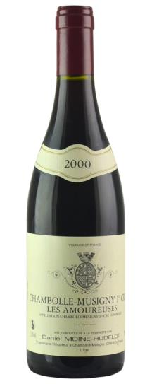 2000 Domaine Moine-Hudelot Chambolle Musigny les Amoureuses