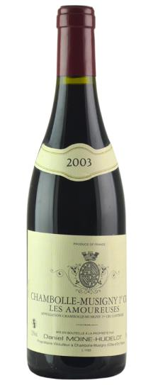 2003 Domaine Moine-Hudelot Chambolle Musigny les Amoureuses