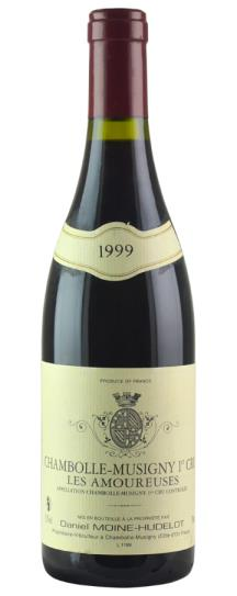 1999 Domaine Moine-Hudelot Chambolle Musigny les Amoureuses
