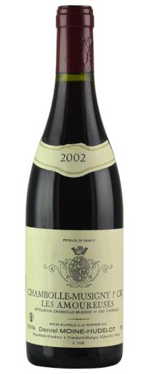 2002 Domaine Moine-Hudelot Chambolle Musigny les Amoureuses
