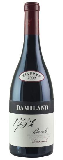 2009 Damilano Barolo Cannubi Riserva 1752