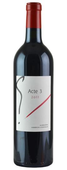"""2011 Sylvie et Jacques Guinaudeau """"G"""" Acte 3"""