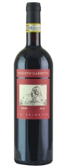 2014 La Spinetta Barolo Garretti