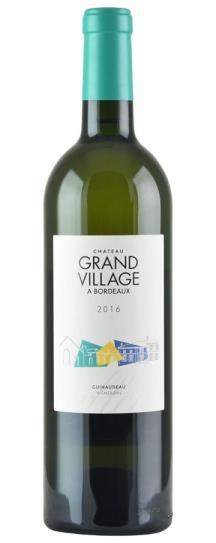 2018 Chateau Grand Village Blanc