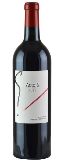 """2014 Sylvie et Jacques Guinaudeau """"G"""" Acte 6"""