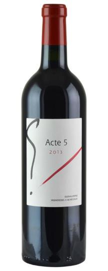 """2013 Sylvie et Jacques Guinaudeau """"G"""" Acte 5"""