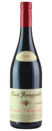 2012 Clos Rougeard Saumur Champigny Les Poyeux