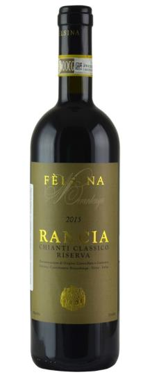 2016 Fattoria di Felsina Chianti Classico Berardenga Rancia Riserva