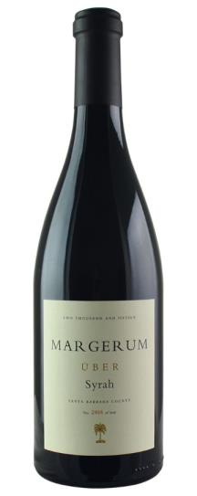 2015 Margerum Wine Co Syrah UBER