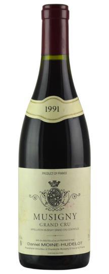 1991 Domaine Moine-Hudelot Musigny