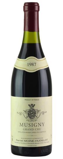 1987 Domaine Moine-Hudelot Musigny