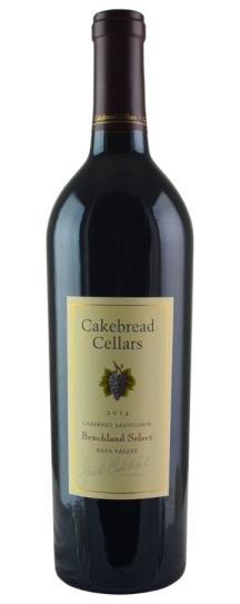 2014 Cakebread Cellars Cabernet Sauvignon Benchland Select