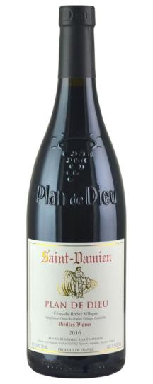 2016 Domaine Saint-Damien Cotes du Rhone Plan de Dieu  Vieilles Vignes