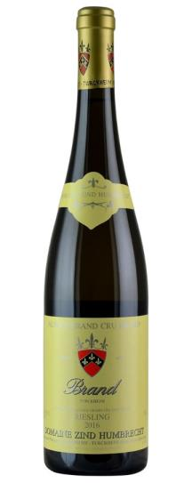 2016 Domaine Zind Humbrecht Riesling Brand