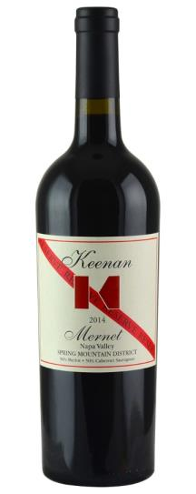 2014 Robert Keenan Winery Mernet