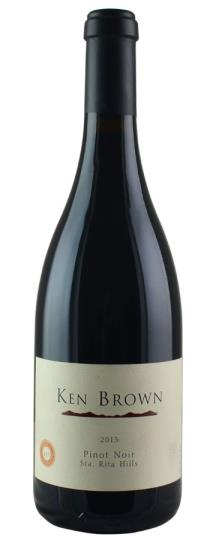 2013 Ken Brown Pinot Noir