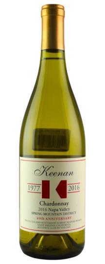 2016 Robert Keenan Chardonnay