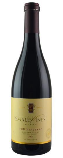 2015 Small Vines Wines Inc Pinot Noir TBH Vineyard Sonoma Coast