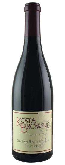 2016 Kosta Browne Pinot Noir Russian River Valley