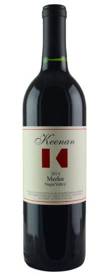 2014 Robert Keenan Merlot Napa