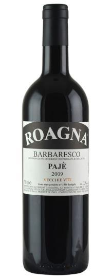 2009 Roagna Barbaresco Paje Vecchie Viti