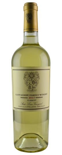 2017 Kapcsandy Family Winery Furmint State Lane Vineyard