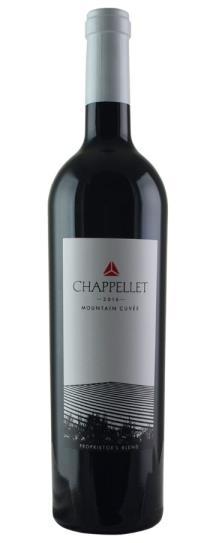 2016 Chappellet Mountain Cuvee