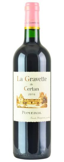 2016 La Gravette de Certan Bordeaux Blend