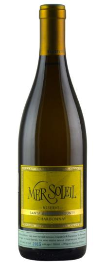 2015 Mer Soleil Chardonnay Reserve