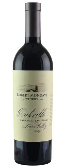 2014 Robert Mondavi Winery Cabernet Sauvignon Oakville