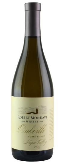 2015 Robert Mondavi Winery Fume Blanc Oakville