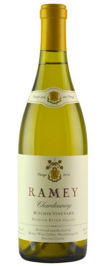 2014 Ramey Chardonnay Ritchie Vineyard