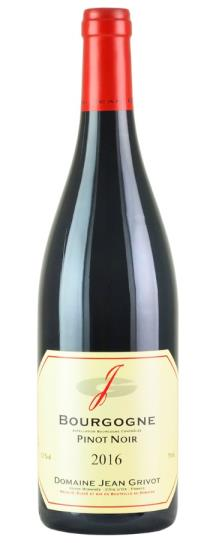 2016 Domaine Jean Grivot Bourgogne Rouge
