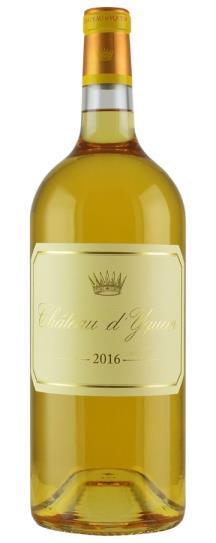 2016 Chateau d'Yquem Sauternes Blend