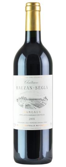 2001 Rauzan-Segla (Rausan-Segla) Bordeaux Blend