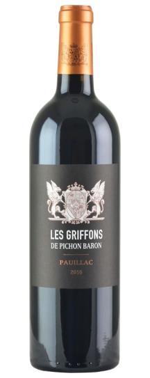 2016 Pichon-Longueville Baron Les Griffons de Pichon Baron