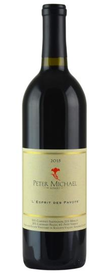 2015 Peter Michael Winery L'Esprit des Pavots
