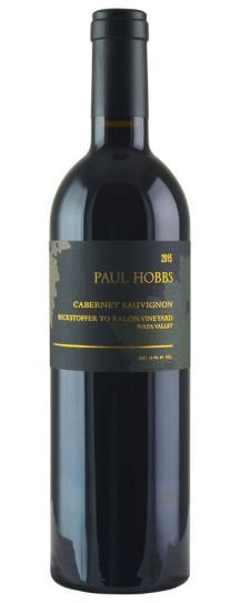 2015 Paul Hobbs Cabernet Sauvignon Beckstoffer To Kalon Vineyard