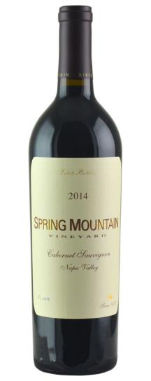 2014 Spring Mountain Vineyard Cabernet Sauvignon
