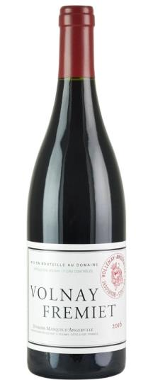 2016 Marquis d'Angerville Volnay Fremiets