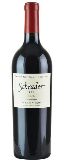 2016 Schrader Cellars Cabernet Sauvignon RBS Beckstoffer To Kalon Vineyard