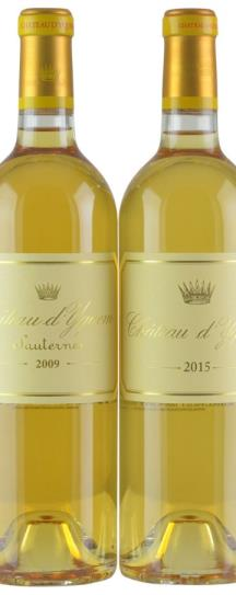 NV Chateau d'Yquem Ex-Chateau 2018 Release 6-Btl OWC Set; 3 each: 2009 and 2015
