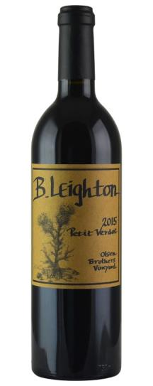 2015 B. Leighton Wines Olsen's Brothers Vineyard Petit Verdot