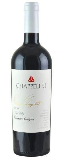 2016 Chappellet Cabernet Sauvignon Signature Napa