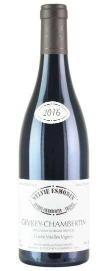 2016 Domaine Sylvie Esmonin Gevrey Chambertin Vieilles Vignes